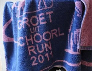 groet uit schoorl handdoek 2011