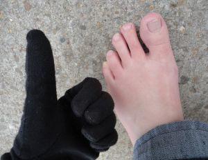 koude tenen warme handen