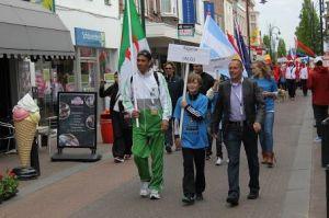 mohamed, vlaggenparade, photo by Maria Veldmans