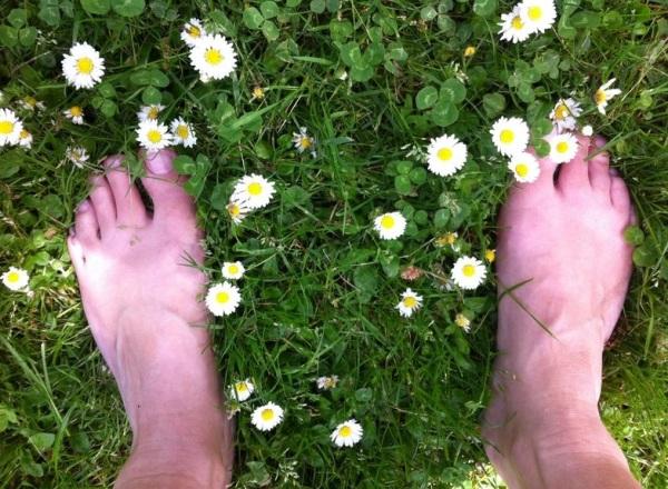 blije blote voeten