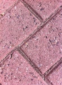 klinkers, roze, Groenendaal