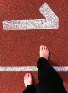 ondergrond, atletiekbaan